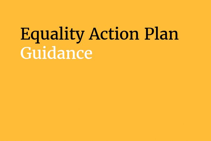 Arts Council England's Equality Action Plan Guidance