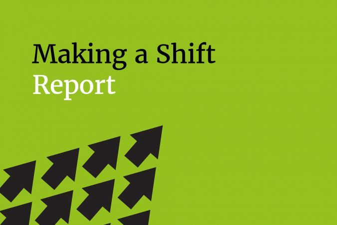 Arts Council England's Making a Shift report
