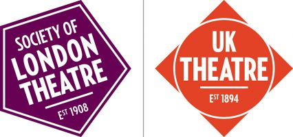 Society of London Theatre and UK Theatre logos
